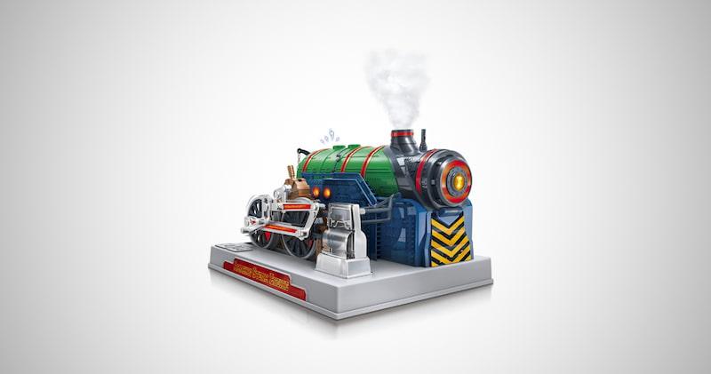 Playz Train Steam Engine Model Kit