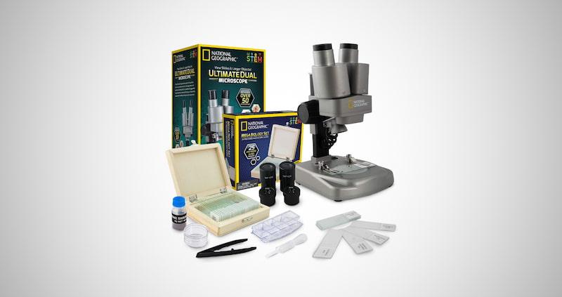 Dual LED Microscope