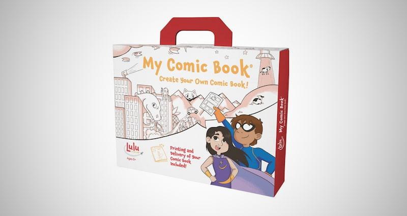 Lulu Jr. My Comic Book Making Kit