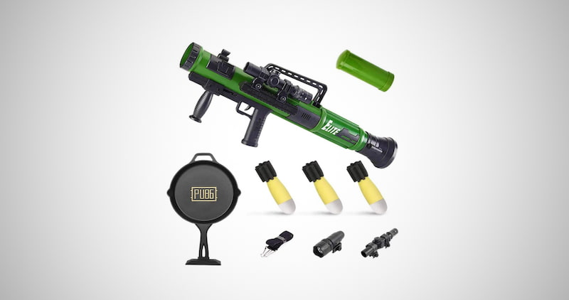 Military Toy Rocket Launcher Set