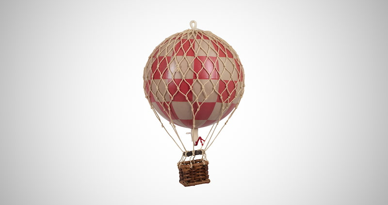 Hot Air Balloon Replica