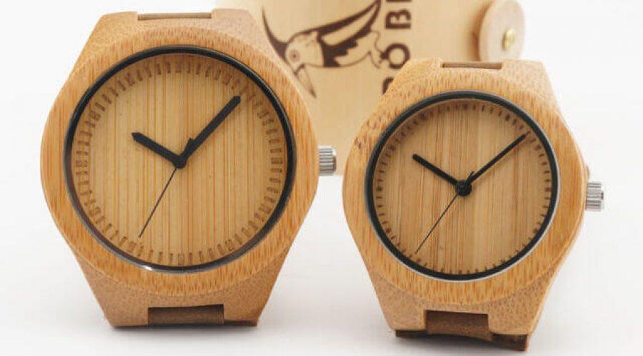 Men's Bamboo Wooden Watch