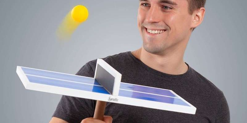 Handheld Ping Pong One Hand Game